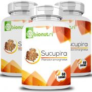 Sucupira - Original - 500mg - 03 Potes