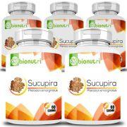 Sucupira - Original - 500mg - 05 Potes