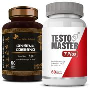 Testomaster T-Plus 760mg + Ginseng Coreano 400mg