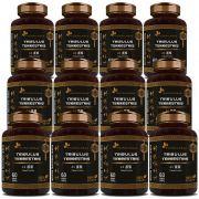 Tribullus Terrestris (Ji Li - Tribuli Fuctrus) - 100% Vegano - 12 Potes