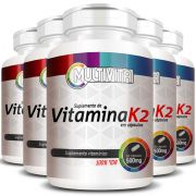 Vitamina K2 - 500mg - 5 Potes