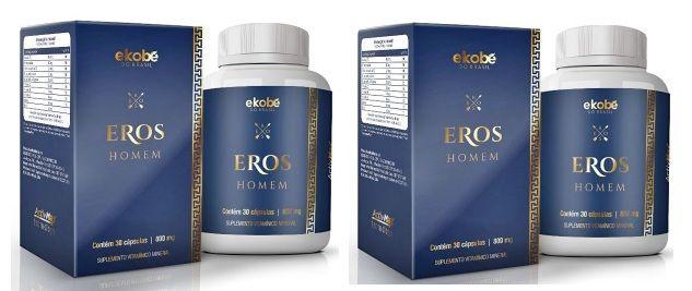 Eros Homem Original   Estimulante Sexual Masculino - 02 Potes - 20%OFF  - Natural Show - Produtos Naturais, Suplementos e Cosméticos