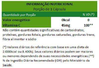 Acerola (Vitamina C) - 90 cápsulas de 500mg - Original  - Natural Show - Produtos Naturais, Suplementos e Cosméticos