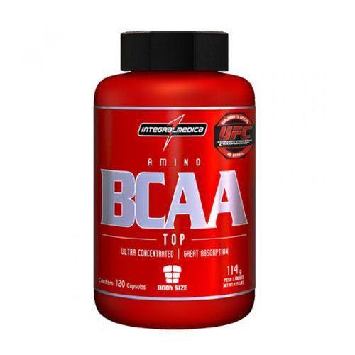 Amino BCAA Top 120 Cáps Body Size - Integralmédica  - Natural Show - Produtos Naturais, Suplementos e Cosméticos