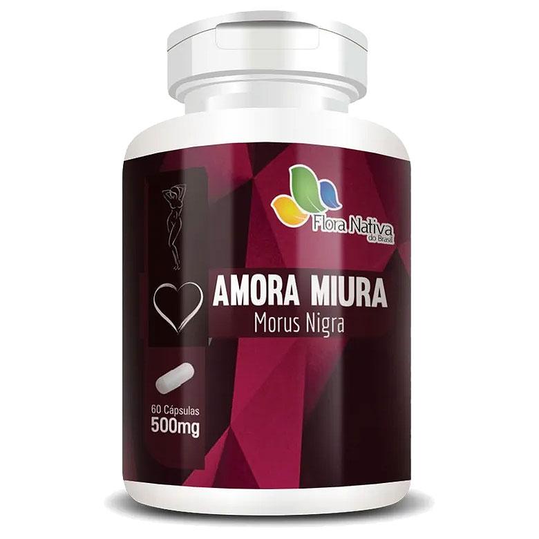 Amora Miura 500mg - 60 cápsulas - A Legítima