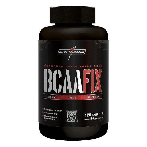 BCAA Fix Darkness - 120caps - Integralmedica  - Natural Show - Produtos Naturais, Suplementos e Cosméticos