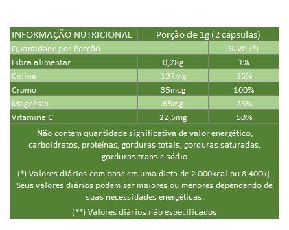 Café Verde | Green Coffee 500 mg - 5 Potes  - Natural Show - Produtos Naturais, Suplementos e Cosméticos