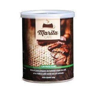 Café Marita Verde - Original - 01 Lata   - Natural Show - Produtos Naturais, Suplementos e Cosméticos