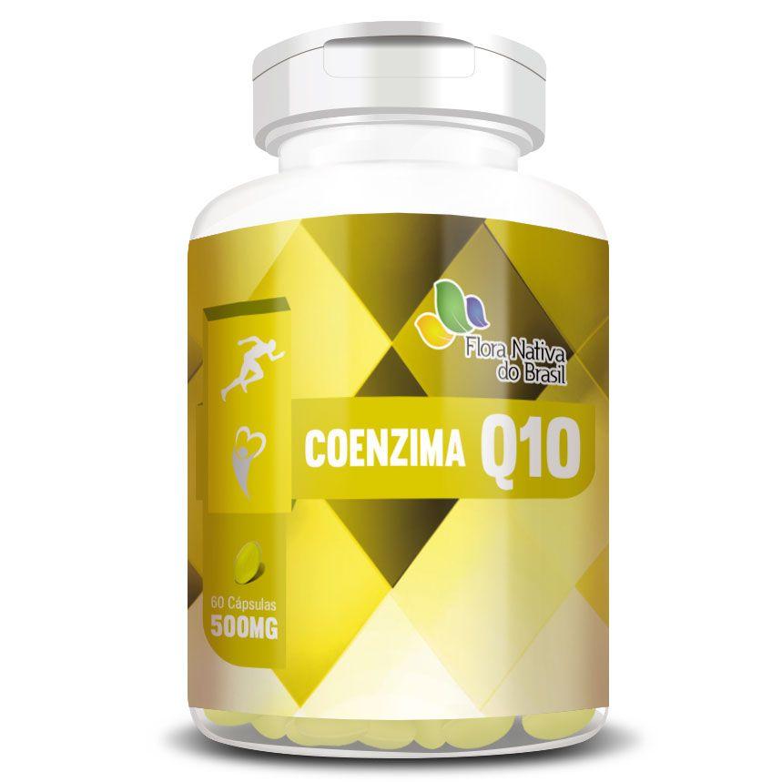 Coenzima Q10 - 60 cápsulas de 500mg  - Natural Show - Produtos Naturais, Suplementos e Cosméticos
