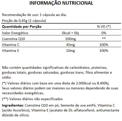 Coenzima Q10 - Original - MaxVitam Line 450mg - 3 Potes (90 cápsulas)   - Natural Show - Produtos Naturais, Suplementos e Cosméticos