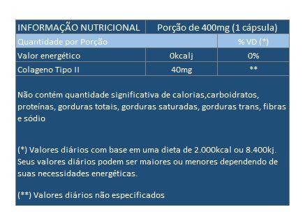 Colágeno Tipo 2 - UC II - Original - 40mg - 30 cápsulas  - Natural Show - Produtos Naturais, Suplementos e Cosméticos