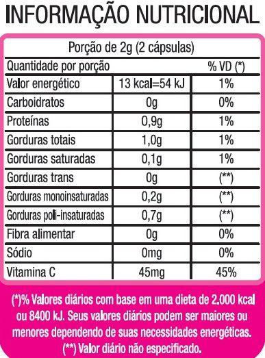 Collagen Care Original Colágeno Hidrolisado + Vitamina C 4X + Concentrado - 05 Potes   - Natural Show - Produtos Naturais, Suplementos e Cosméticos