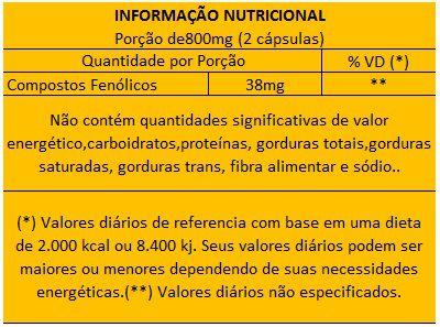 Cúrcuma 600mg + Própolis Extrato Seco 400mg + Gengibre 100% Puro 500mg  - Natural Show - Produtos Naturais, Suplementos e Cosméticos