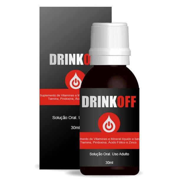DrinkOff Original - Tratamento Parar Beber - Anti-álcool - 01 Frasco   - Natural Show - Produtos Naturais, Suplementos e Cosméticos