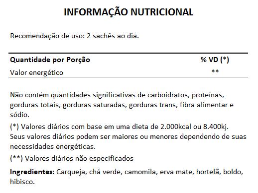 Esbelchá Original Chá 7 Ervas Naturais 60 Sachês + Seca Barriga Goji Berry Açaí 500mg   - Natural Show - Produtos Naturais, Suplementos e Cosméticos
