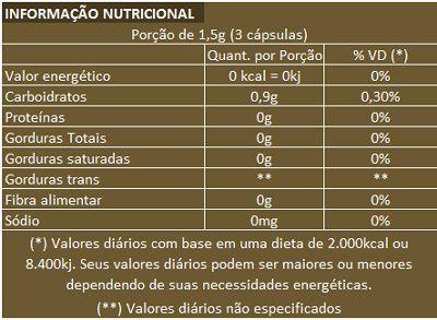 Gengibre 100% Puro - Original - 60 cáps. de 500mg  - Natural Show - Produtos Naturais, Suplementos e Cosméticos