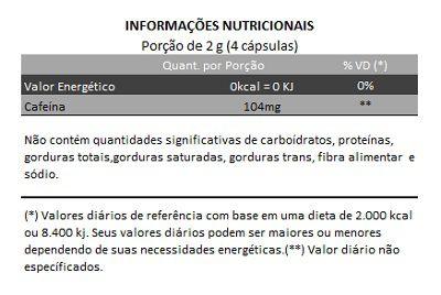 Guaraná 100% Puro - 500mg - 05 Potes (300 cápsulas)  - Natural Show - Produtos Naturais, Suplementos e Cosméticos