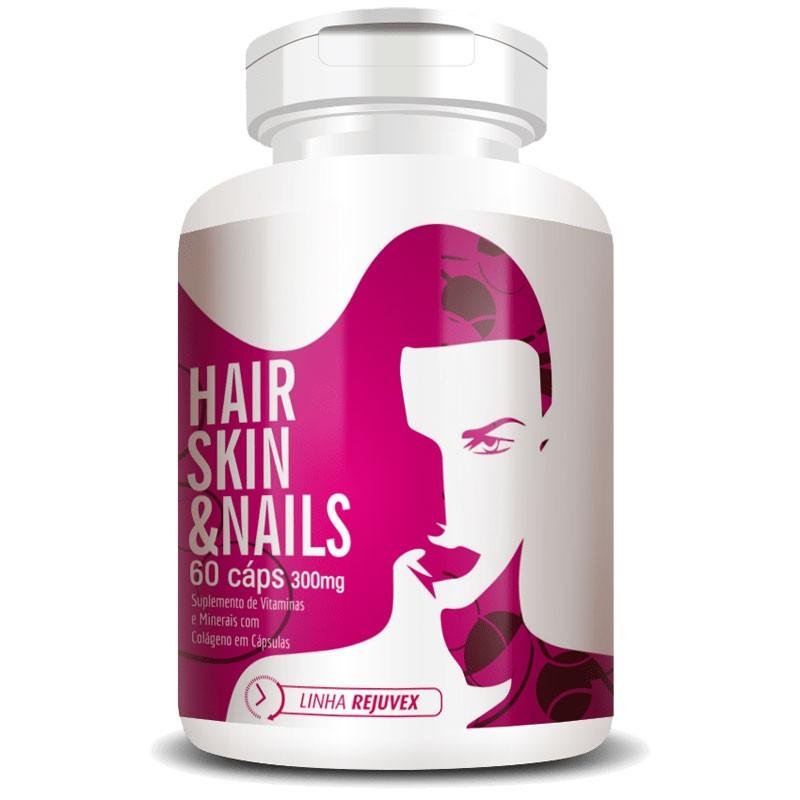 Hair Skin & Nails | Cabelos, Unhas e Pele - 60 cápsulas de 300mg