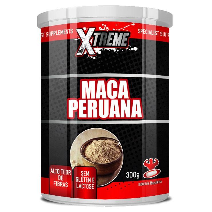 Maca Peruana em Pó, 100% Pura - 300g - Xtreme
