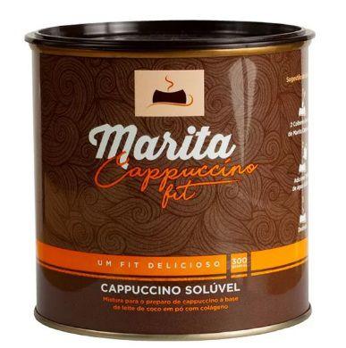 Marita Cappuccino Fit - 300g - Original - Cappuccino Solúvel   - Natural Show - Produtos Naturais, Suplementos e Cosméticos