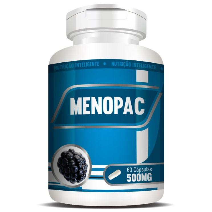 Menopac | Amora e Aquileia - 60 cápsulas  - Natural Show - Produtos Naturais, Suplementos e Cosméticos