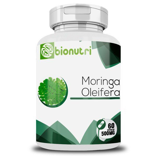 Moringa Oleifera - Original - 500mg - 60 cápsulas  - Natural Show - Produtos Naturais, Suplementos e Cosméticos