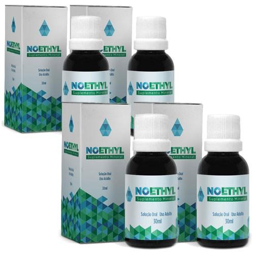 Noethyl - Anti-Alcool -  04 Frascos - 20% OFF - (Tratamento completo 90 dias)  - Natural Show - Produtos Naturais, Suplementos e Cosméticos