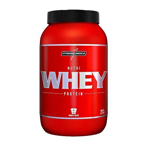 Nutri Whey Protein (907g) - Chocolate - Integralmedica  - Natural Show - Produtos Naturais, Suplementos e Cosméticos