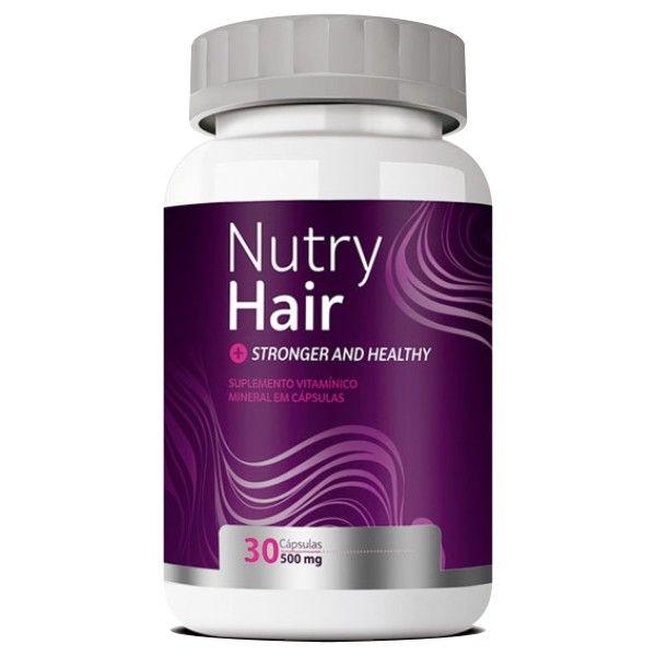 Nutry Hair Original   Vitamina para Cabelo - 01 Pote  - Natural Show - Produtos Naturais, Suplementos e Cosméticos