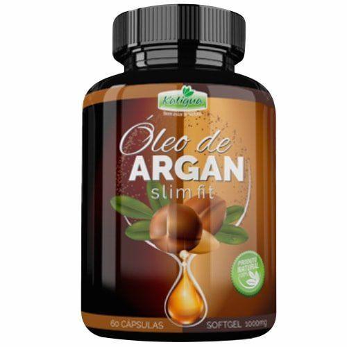 Emagrecedor Óleo de Argan Original (Slim Fit) 1000mg - 01 Pote  - Natural Show - Produtos Naturais, Suplementos e Cosméticos