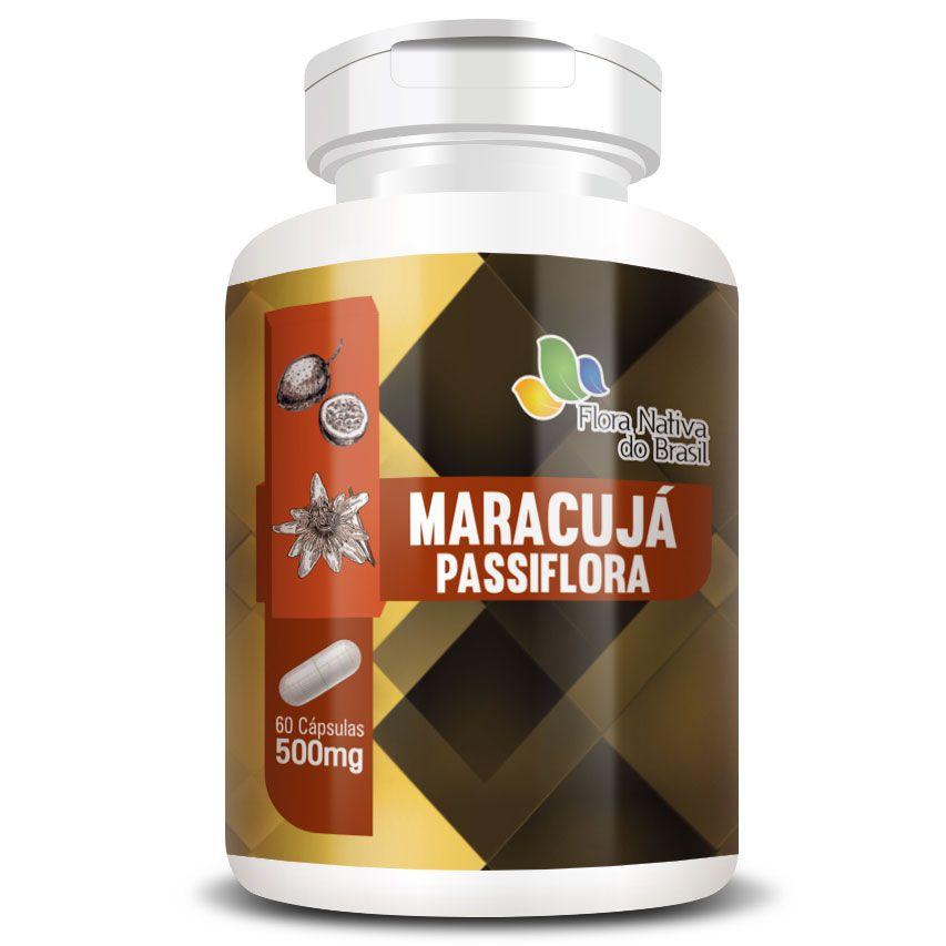 Passiflora Original (Maracujá) - 500mg - 60 cápsulas