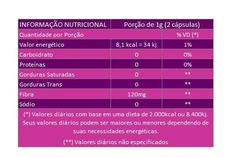 Passiflora Original (Maracujá) - 500mg - 60 cápsulas   - Natural Show - Produtos Naturais, Suplementos e Cosméticos