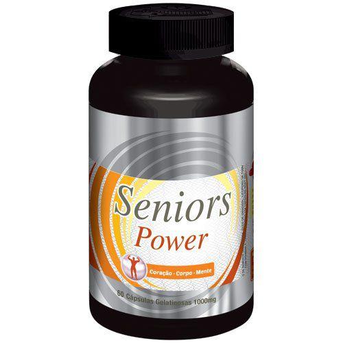 Estimulante Sexual Seniors Power - 01 Pote (Original)  - Natural Show - Produtos Naturais, Suplementos e Cosméticos