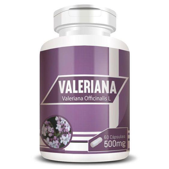 Valeriana 100% Pura - 60 cápsulas de 500mg  - Natural Show - Produtos Naturais, Suplementos e Cosméticos