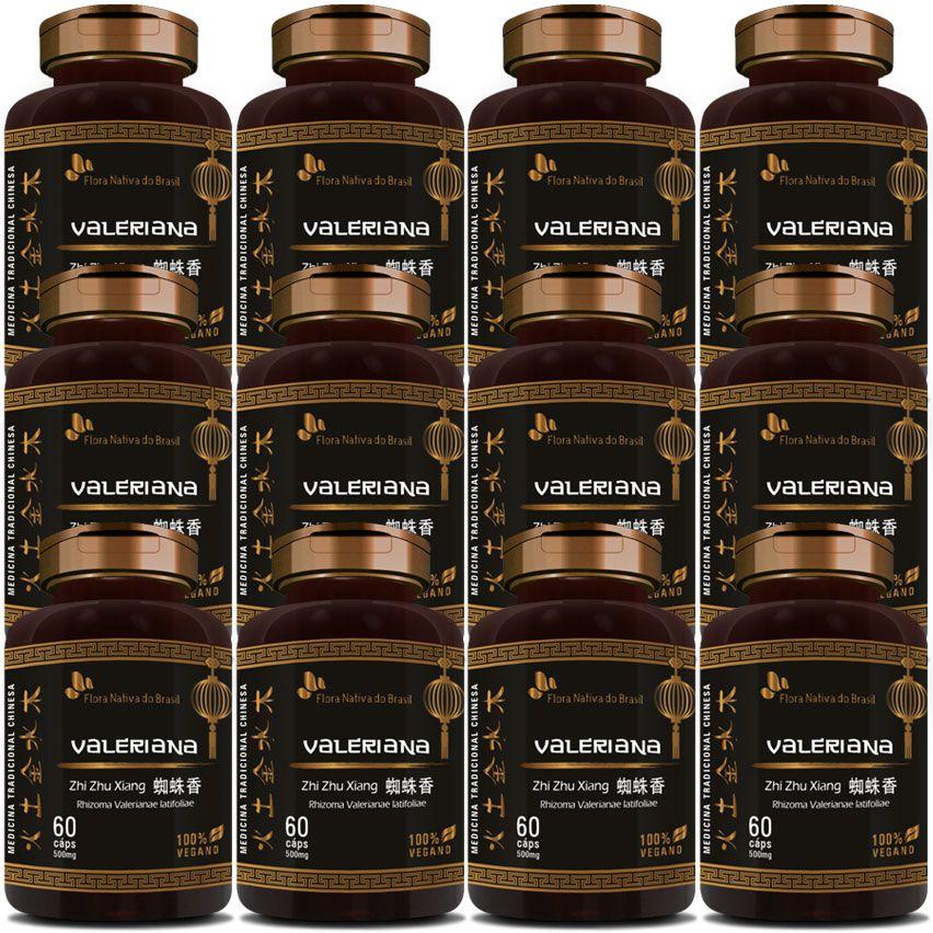 Valeriana (Zhi Zhu Xiang - Rhizoma Valerianae Latifoliae) - 12 Potes  - Natural Show - Produtos Naturais, Suplementos e Cosméticos