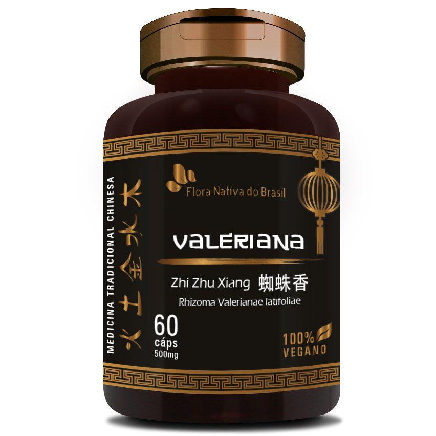 Valeriana (Zhi Zhu Xiang - Rhizoma Valerianae Latifoliae) - 100% Vegano  - Natural Show - Produtos Naturais, Suplementos e Cosméticos