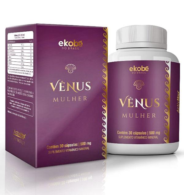 Vênus Mulher Original | Estimulante Sexual Feminino - 01 Pote  - Natural Show - Produtos Naturais, Suplementos e Cosméticos