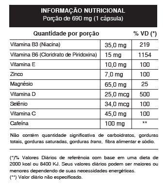 Viggor Maxx - Original   690mg   Estimulante Sexual - 01 Pote  - Natural Show - Produtos Naturais, Suplementos e Cosméticos