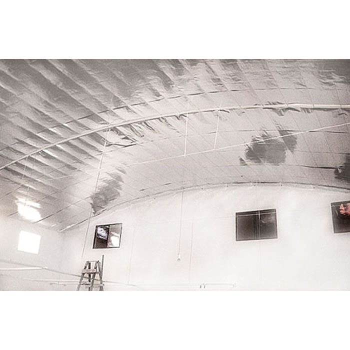 Manta termica para telhado 2 faces (25m²) + Fita - Multifoil TNT Mix