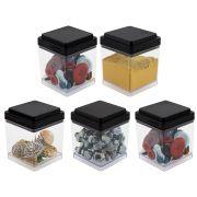 Pote Porta Objetos Multiuso 150ml Organizador Parafusos Botões 5 Peças