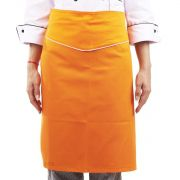 Avental Chef de Cozinha Tipo Saia Laranja Tropical