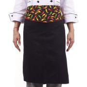 Avental de Cintura Chef de Cozinha Pimenta