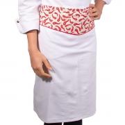 Avental de Cintura Chef de Cozinha Pimenta Cortada - Wp
