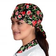 Bandana Unissex Alpineia Rosas - Wp Connect