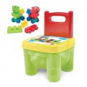 Cadeirinha de Brinquedo Infantil com Blocos de Montar - Wp Connect