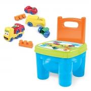 Cadeirinha de Brinquedo Infantil Blocos e Carrinhos - Wp Connect