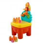 Cadeirinha de Brinquedo Infantil Blocos e Engrenagens - Wp Connect