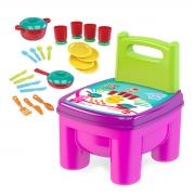Cadeirinha de Brinquedo Infantil Cozinha e Panelinhas - Wp Connect