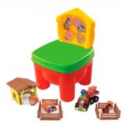 Cadeirinha de Brinquedo Infantil Fazendinha - Wp Connect