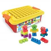 Caixa de Brinquedo com Blocos de Montar 28 Peças - Wp Connect